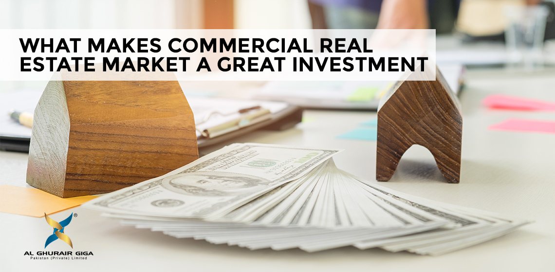 What makes Commercial Real Estate Market a Great Investment?