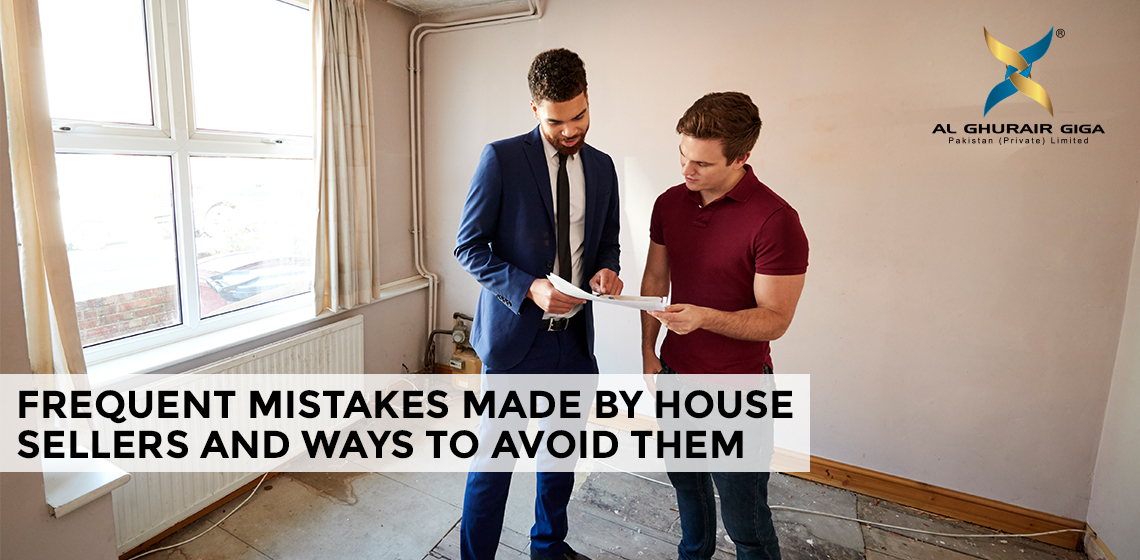 Frequent Mistakes Made by House Sellers and ways to Avoid Them