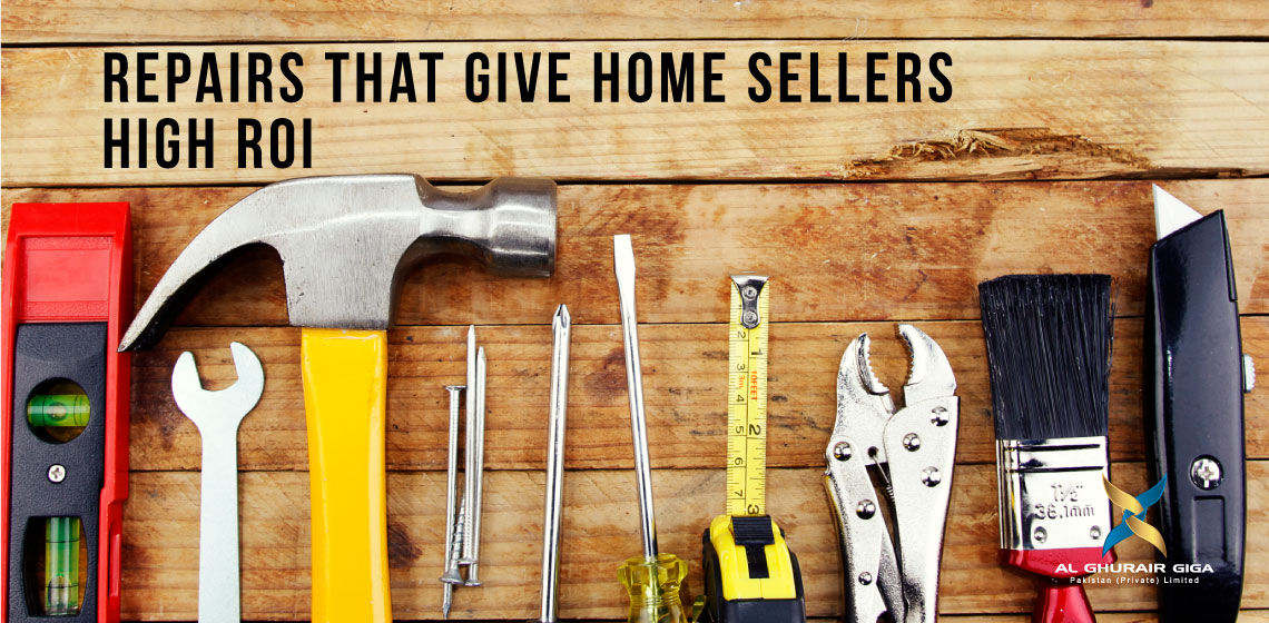 Repairs that Give Home Sellers High ROI
