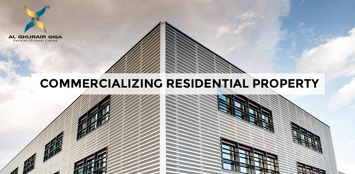 Commercializing Residential Property