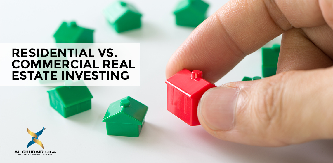 Residential Vs. Commercial Real Estate Investing