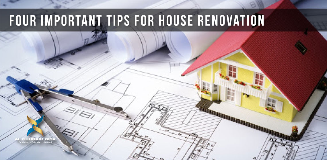 Four Important Tips for House Renovation