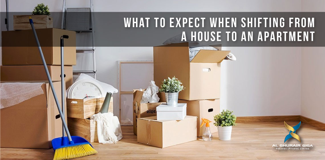 What to Expect When Shifting from a House to an Apartment?