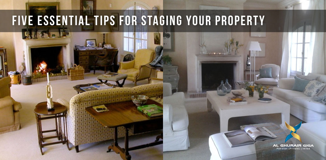 Five Essential Tips for Staging Your Property