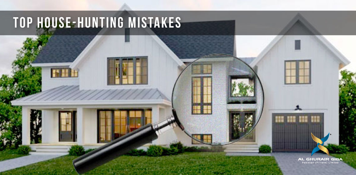Top House Hunting Mistake