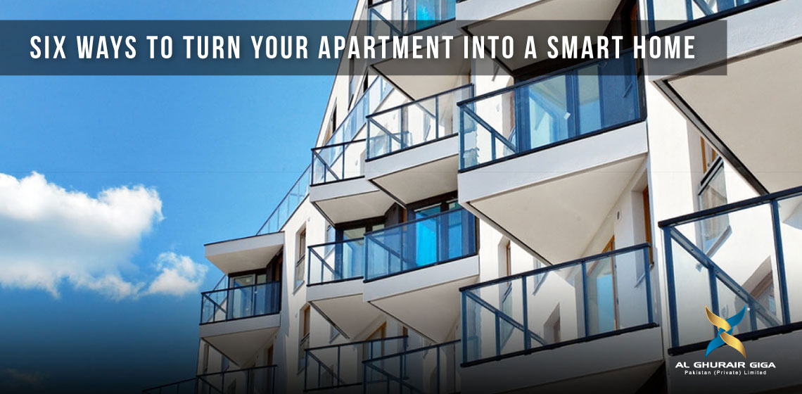 Six ways to turn Your Apartment into a Smart Home