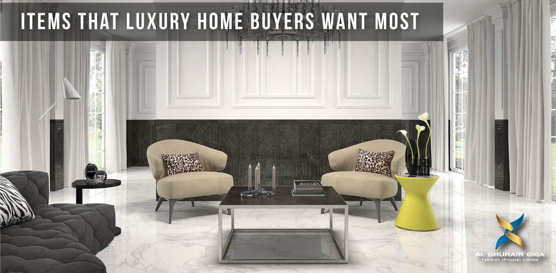 Items That Luxury Home Buyers Want Most