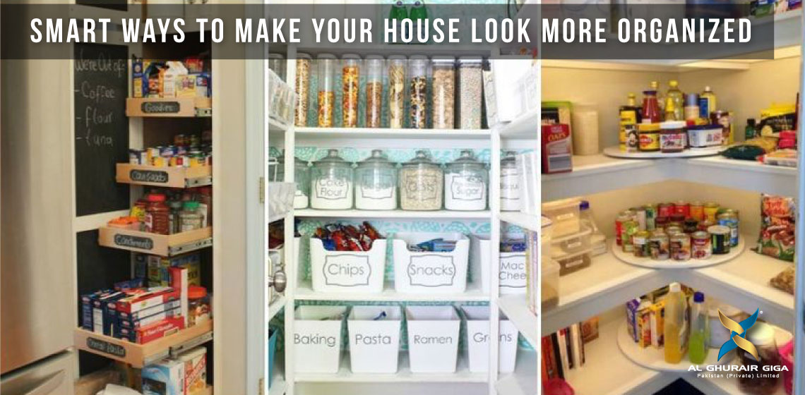 Smart Ways to Make Your House Look More Organized