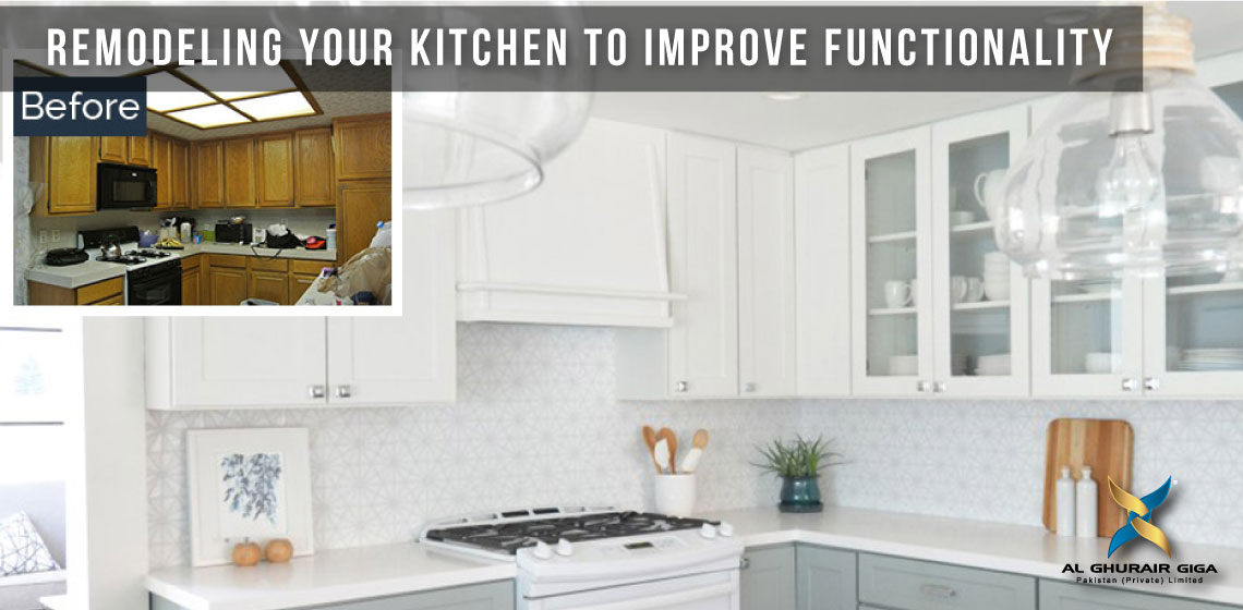 Remodelling Your Kitchen to Improve Functionality