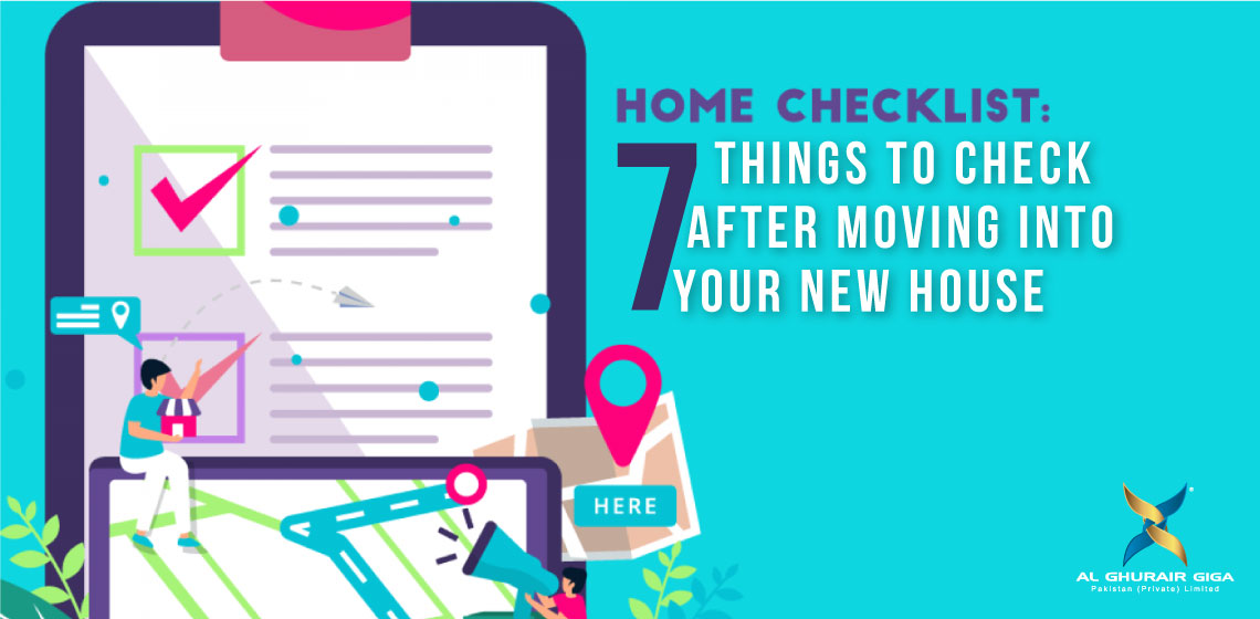 Seven Things to Check After Moving into Your New House