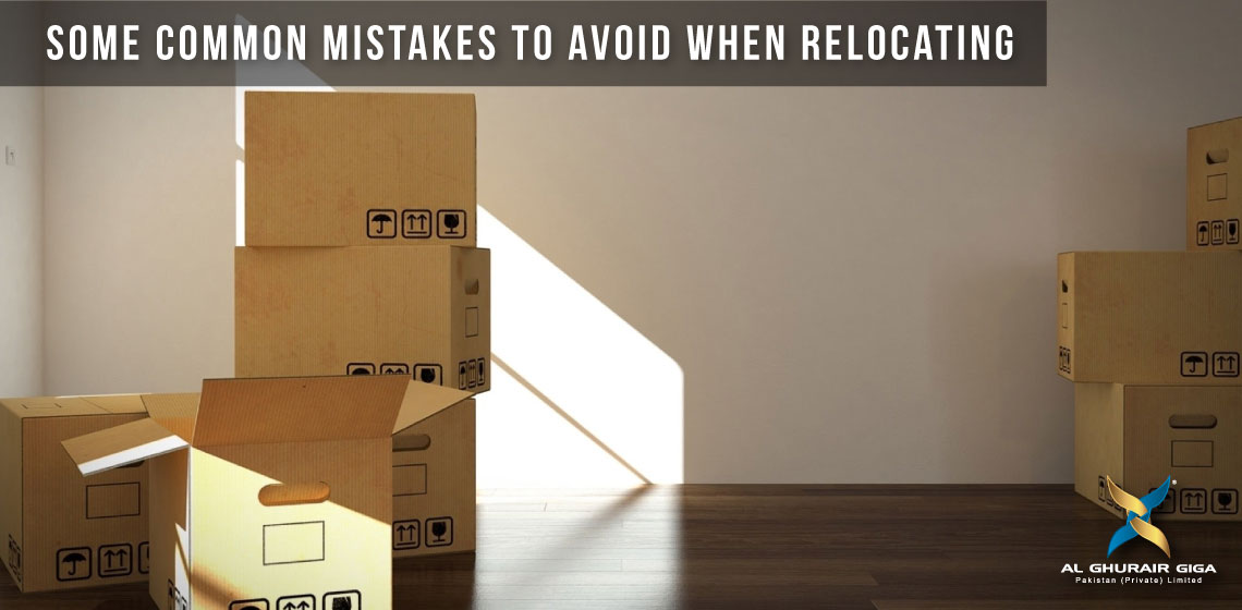 Some Common Mistakes to Avoid When Relocating
