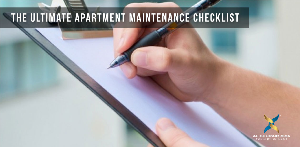 The Ultimate Apartment Maintenance Checklist