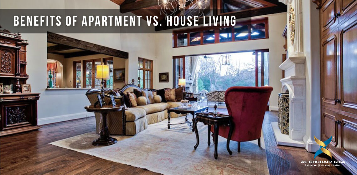 Benefits of Apartment Vs. House Living