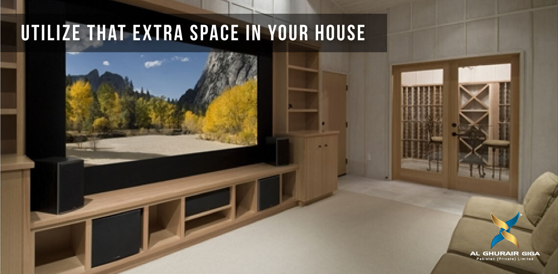 Utilize that Extra Space in Your House