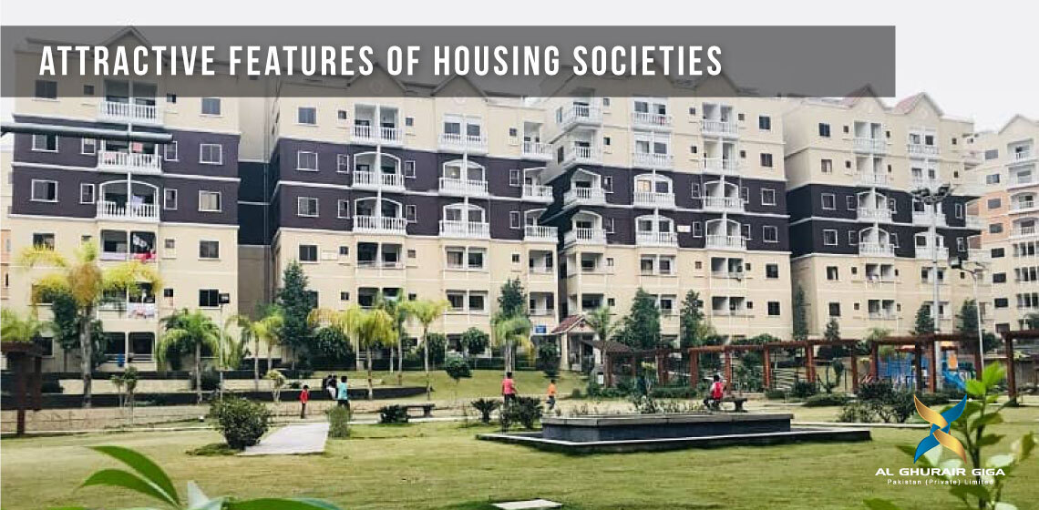 Attractive Features of Housing Societies