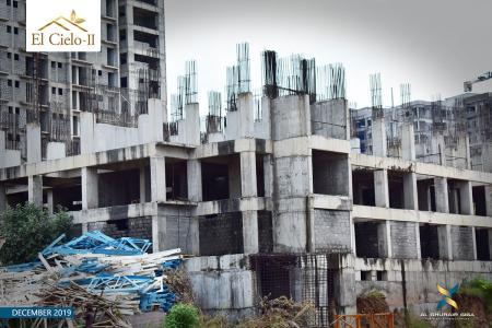 Construction Updates of El Cielo II December 2019