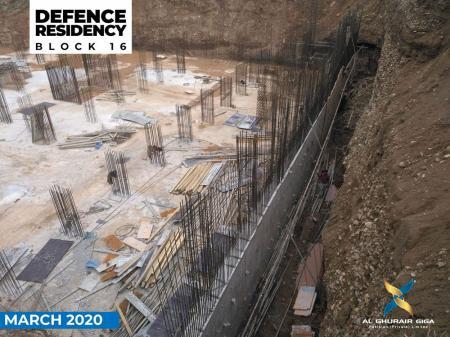 Defence Residency Block No 16 Marach 2020