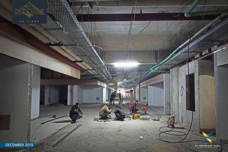 Construction Updates December 2019 – Souk Al Bahar 2A Floor