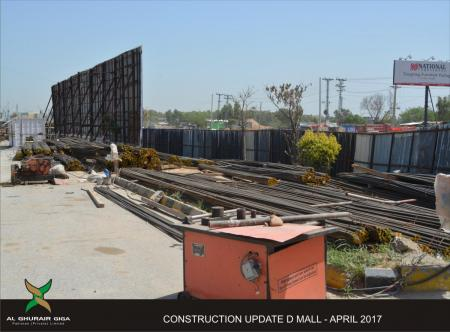 D Mall construction update 5
