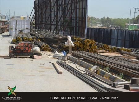 D Mall construction update 6