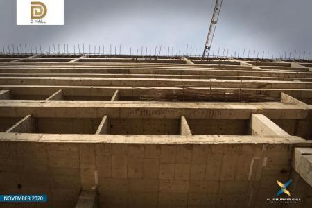 D Mall Construction Updates November 2020