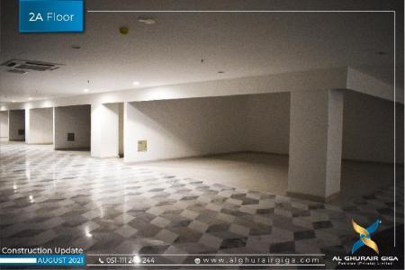 Construction Updates August 2021 – Souk Al Bahar 2A Floor