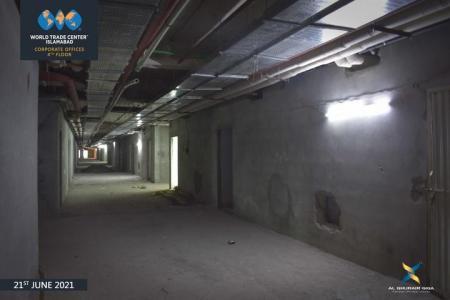 Construction Updates June 2021 – WTC Corporate Offices 4th Floor