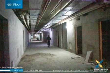 Construction Updates August 2021 – WTC Corporate Offices 4th Floor