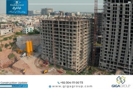Construction Updates Goldcrest Highlife August 2021