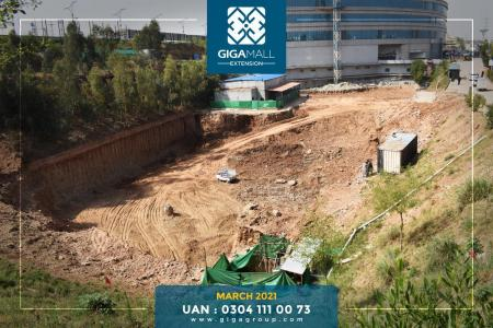 Giga Mall Extension March 2021