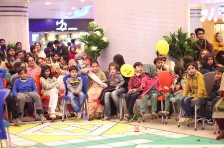 Giga Mall Rabi Pirzada visit at Giga Festival  (10)