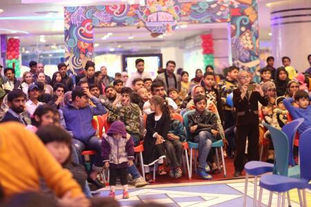 Giga Mall Rabi Pirzada visit at Giga Festival  (11)