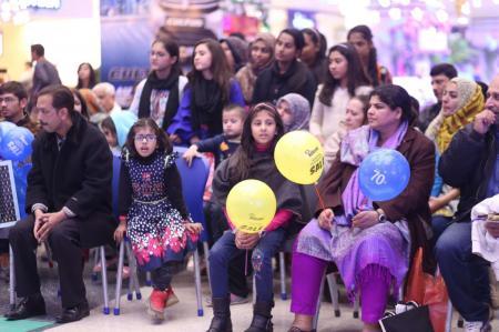 Giga Mall Rabi Pirzada visit at Giga Festival  (13)