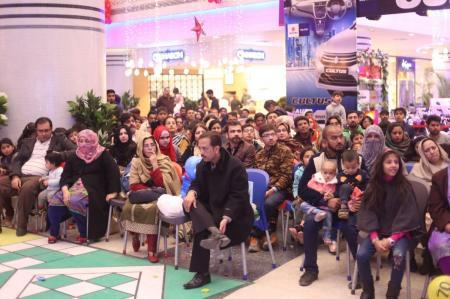 Giga Mall Rabi Pirzada visit at Giga Festival  (15)