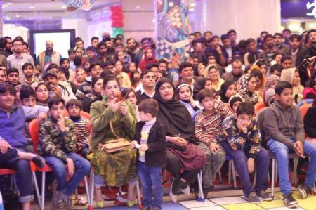Giga Mall Rabi Pirzada visit at Giga Festival  (26)