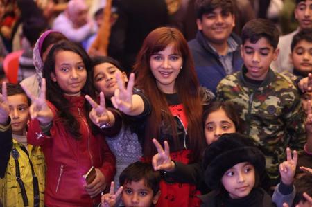 Giga Mall Rabi Pirzada visit at Giga Festival  (27)