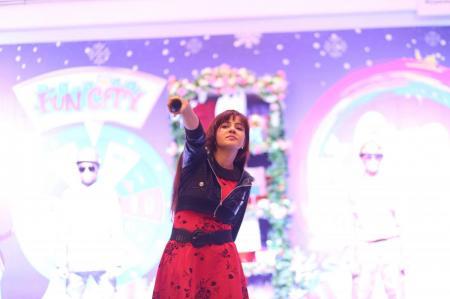 Giga Mall Rabi Pirzada visit at Giga Festival  (29)