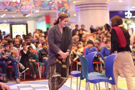Giga Mall Rabi Pirzada visit at Giga Festival  (3)
