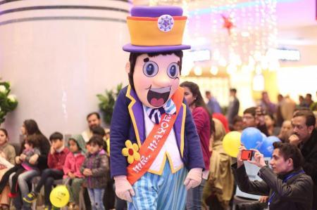 Giga Mall Rabi Pirzada visit at Giga Festival  (4)