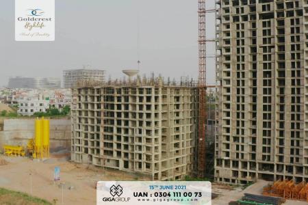 Goldcrest Highlife Construction Updates June 2021