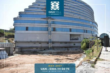 Construction Updates Giga Extension - May 2021