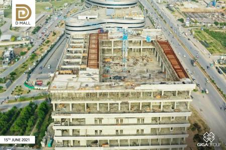 Construction Updates D Mall June 2021
