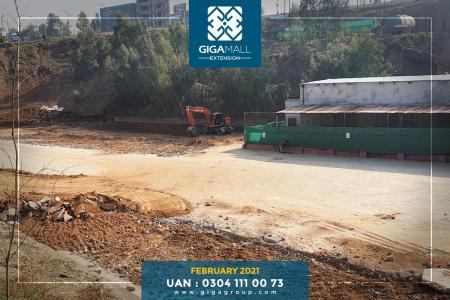 Giga Mall Extension February 2021