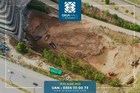 Giga Extension Construction Updates- June 2021